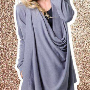 Softest Wrap sweater - Like New!